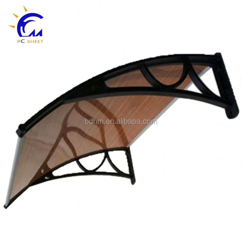polycarbonate diy door window gazebo canopies awning