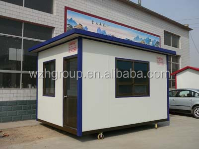 Prefabricated holiday house / site office / toilet & shower