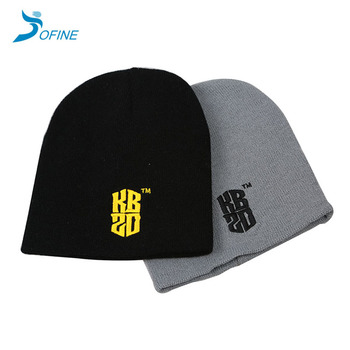 Promotional gift winter cheap toque with custom logo