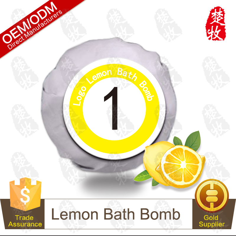 Billiards Collection-No.1 Natural Lemon Bath Bomb Whitening Skin OEM/ODM Professional Supplier