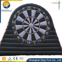 China manufacturer cheap price outdoor popular inflatable soccer dart game for sale