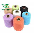 30s/1 Dyed combed cotton yarn with soft handfeeling , for socks knitting