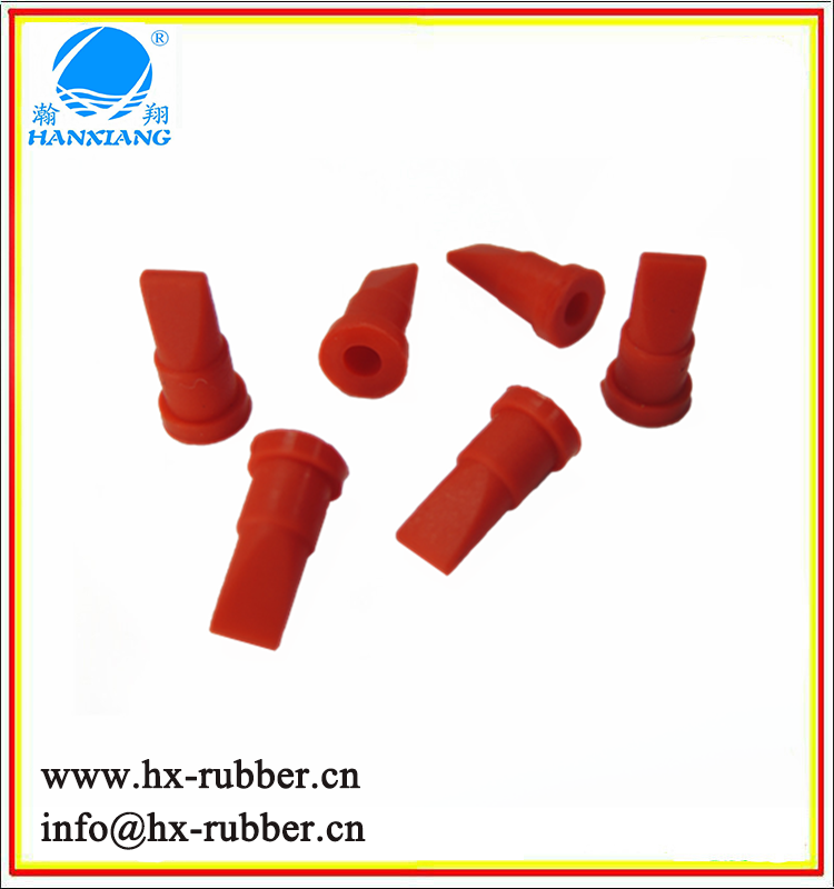 Silicone rubber waterproof one way valve air duckbill check valve