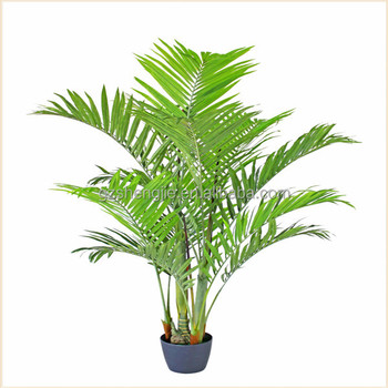 Artificial Foliage Plant Artificial Bamboo Palm Plant