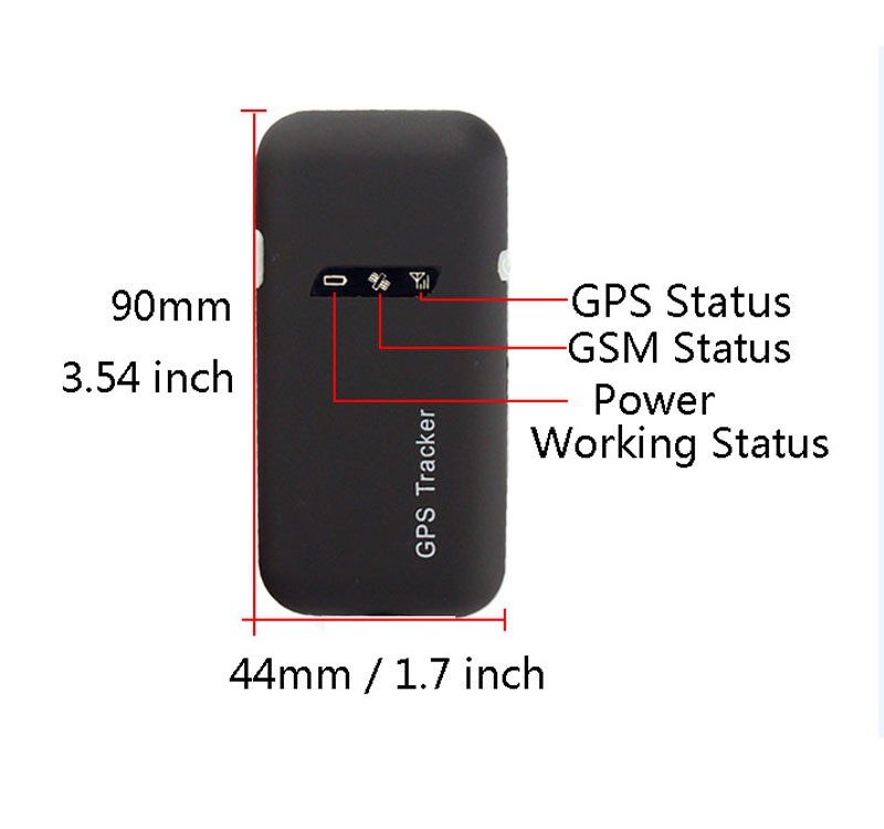 Cheapest Quad Band Phone GPS Tracker GT02A GT02, GSM GPRS Real Time