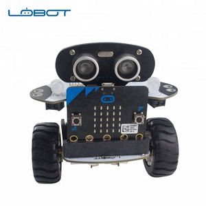 Lewansoul new things self balance car programable robot with Micro:bit board for educational