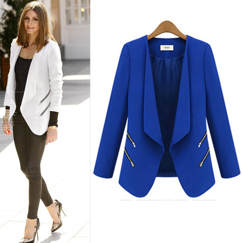 Blazers Show the sharper side to your style in a boy meets girl blazer. This season when we're not making a point in prints, we'll be perfecting polished in a peplum blazer.