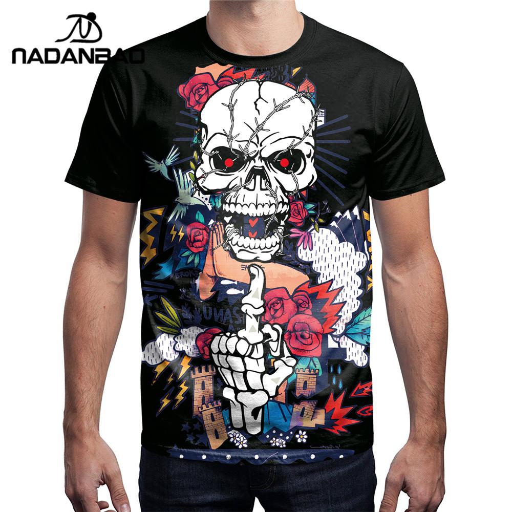 Cheap Custom T Shirt Manufacturer Design Your Own Custom Anime Skull