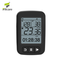 Fitcare BC100 hot selling rechargeable waterproof wireless ANT bicycle computer