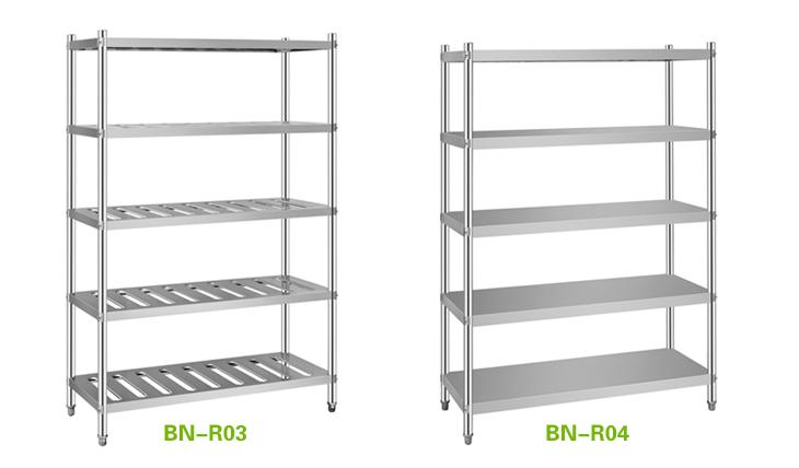 Stainless Steel Commercial Kitchen Shelves - zitzat.com
