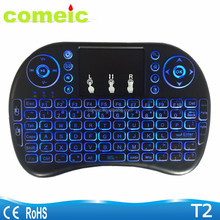 rii i8 keyboard backlit wireless keyboard with Touchpad for home use