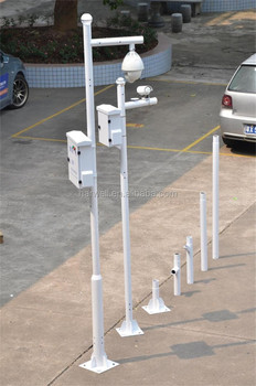 Harwell Security Monitoring Cctv Camera Mounted Pole