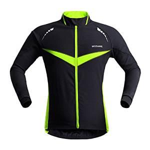 Get Quotations · Wosawe Bicycle Bike Cycling Long Sleeve Jersey Cycling  Jacket Clothing Outdoor Running Bike Wind Coat   6e521b0f2