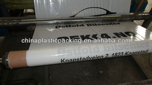 China factory export large plastic tyre bag roll to Noway