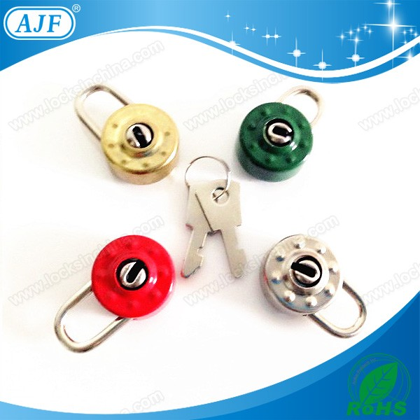 AJF 2015 hot sale colorful mini key diary lock heart, notebook lock