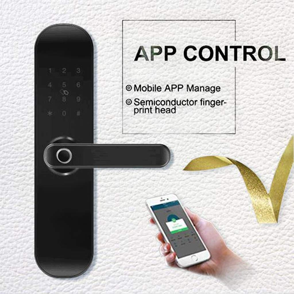 Zigbee Tuya App Control Fingerprint Smart Wireless WiFi Door Lock