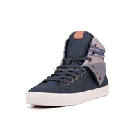 New arrivals high top china wholesale genuine leather men sneakers for running