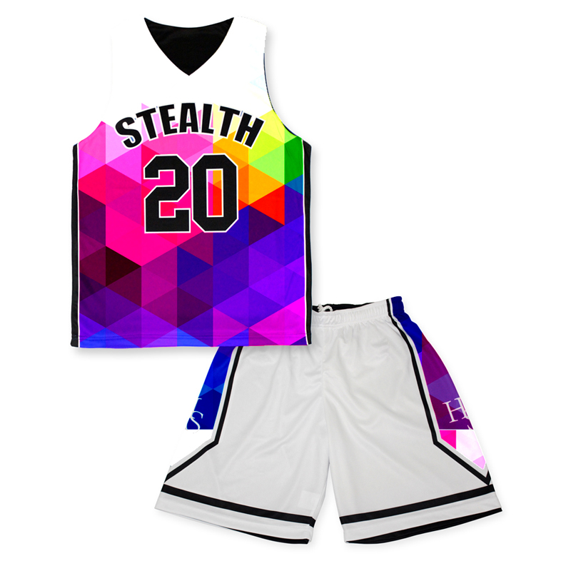 Wholesale cheap custom mixed color popular european basketball jerseys