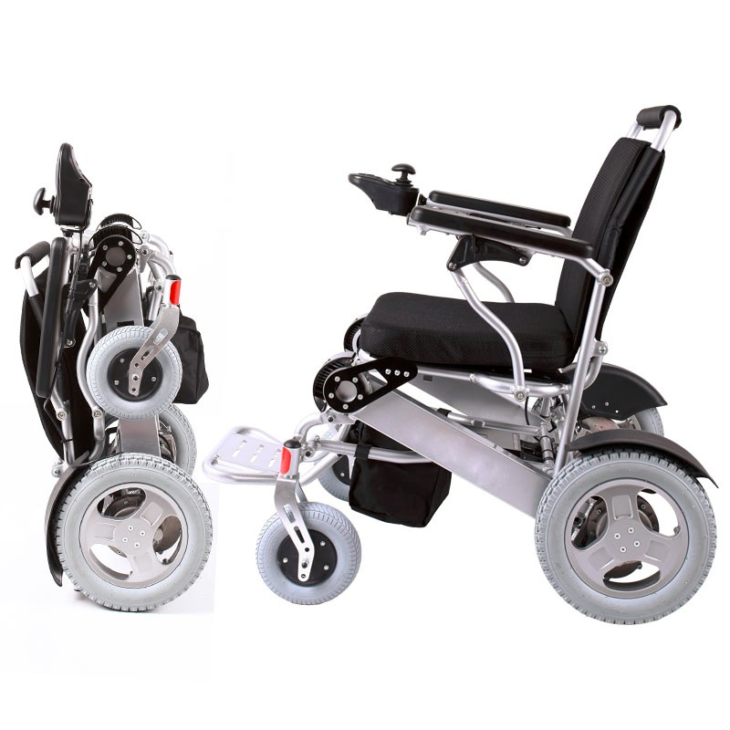 Hub motor 250W 24V batery operated folding wheel chair