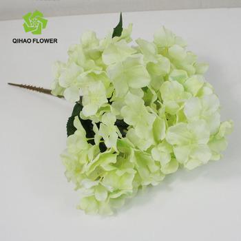 Wholesale Silk Flower Hydrangea 5 Heads Artificial Silk Flower