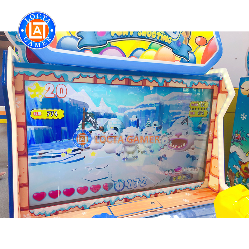Amusement park equipment Arcade game center coin operated funny shooting ticket & gift redemption game machine for sale