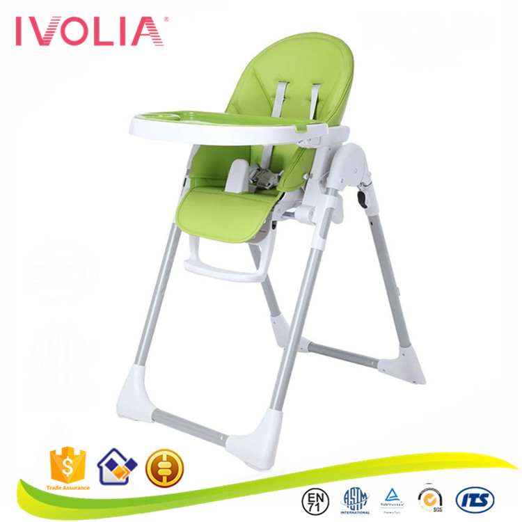 IVOLIA multi-function baby high chair better than wooden