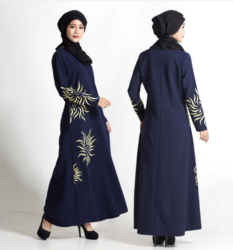 A3249 New design fashion custom dubai abaya wholesale muslim abaya