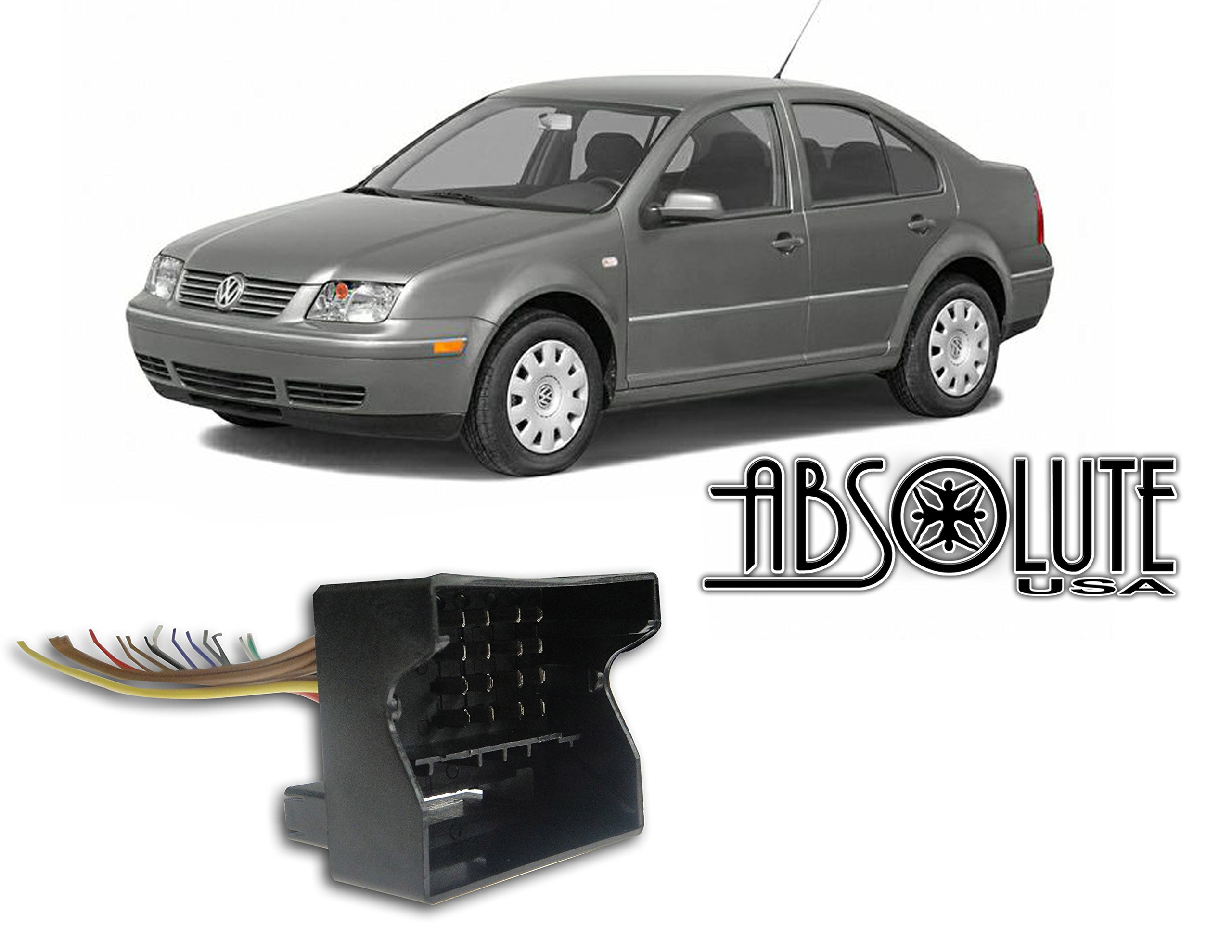 Stereo Wire Harness VW Jetta 03 04 05 2004 2005 Aftermarket Radio / Stereo Installation Wire Harness