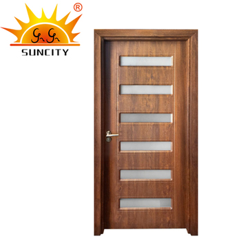 China Modern Main Glass Bedroom Pvc Door Design Malaysia Buy