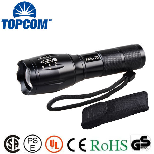 1000lm Zoom And Rechargeable Bike LED Light