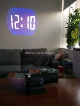 Great Analog LED Wall Projection Clock, Corporate Gift Clock