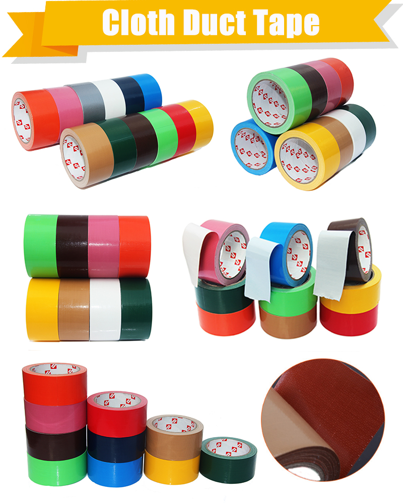 silver color Adhesive fireproof heat resistant duct tape use for cable telephone lines