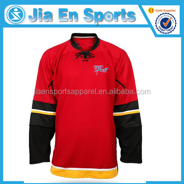 design custom make personalized your own team ice hockey jerseys Professional high quality team hockey uniforms custom jer HH295