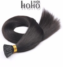Alibaba express 100% remy human hair 26 inch i tip hair extension indian remy hair 6a