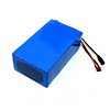 customized rechargeable 37v 10ah lithium battery pack 18650 li-ion battery cell with Charger