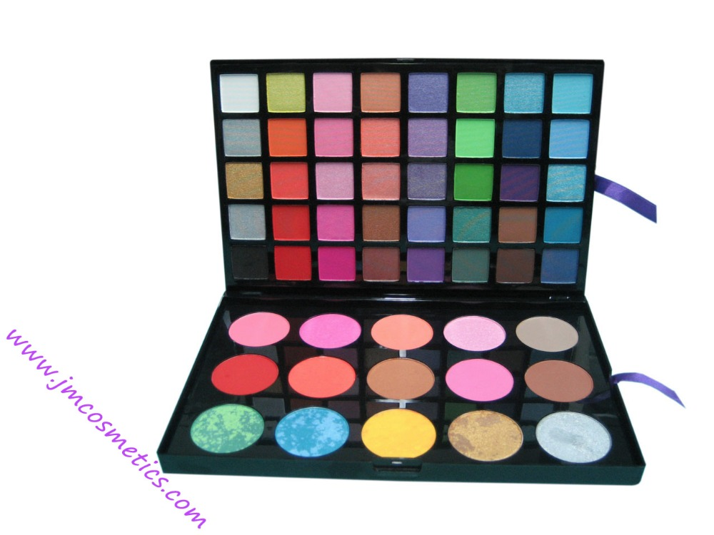 Body makeup cosmetics multi-color makeup your own brand spectrum eye shadow palette