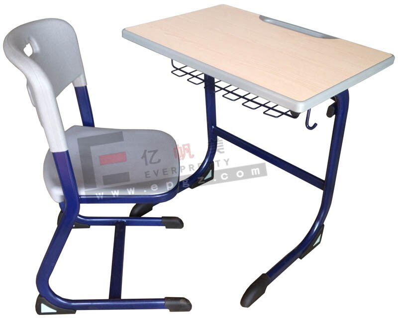 Double School Desk And Bench,Double School Desk,Stackable Double ...