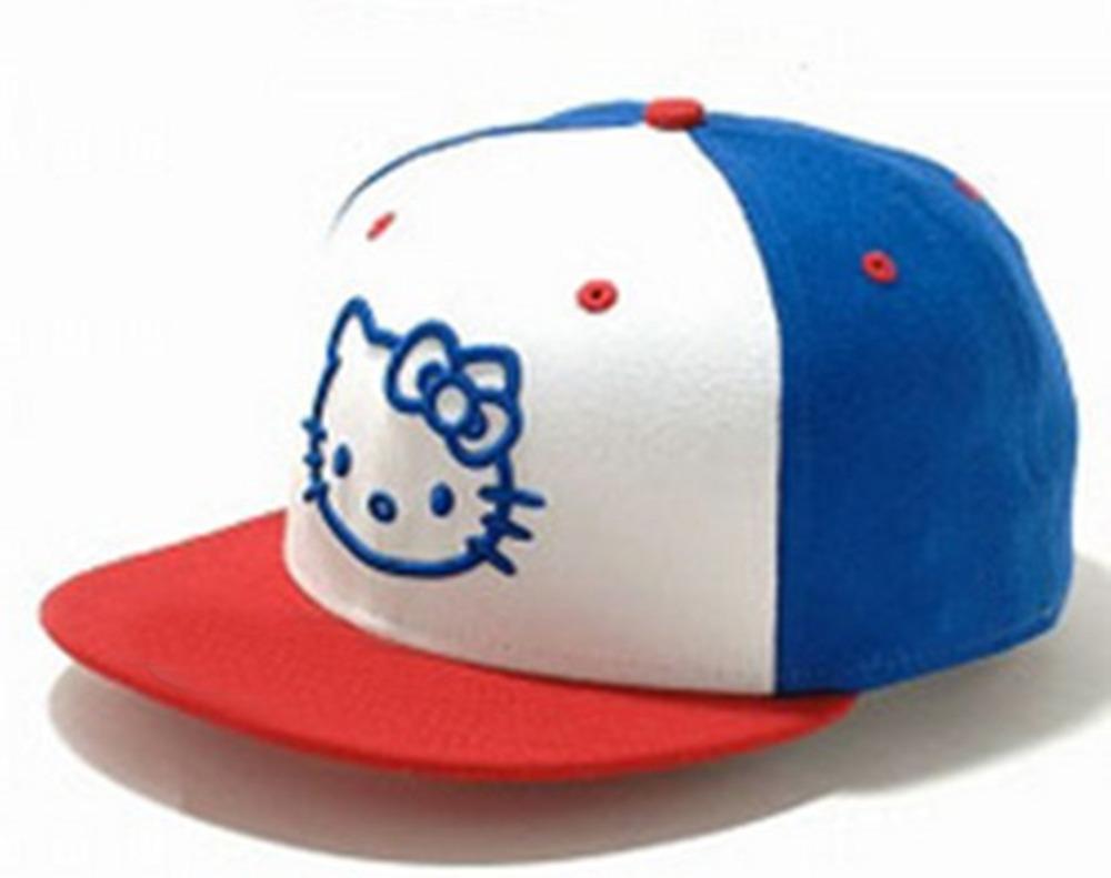 Get Quotations · Hello Kitty cartoon Baseball Caps fashion summer hat  casquette 5 panel snapback hats for men women 3ed0e6871a4