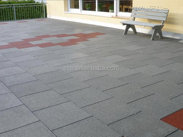 Tegels Voor Oprit : U v weerstand rubber tegels outdoor blauwe rubber tegels voor