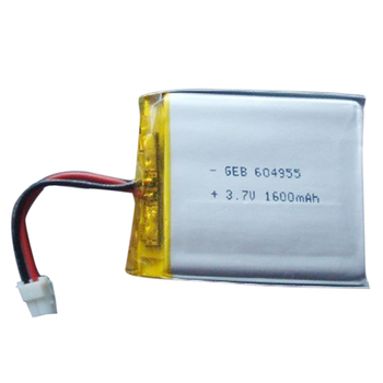 3.7v 1600mah 604955 battery , 1600mah lithium polymer rechargeable battery 3.7v 1500mah li-po batteries