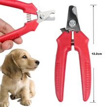 1 Pcs Red Brand New Cheap Pet Animal Dog Cat Nail Clippers Scissors pet Toe Care Nail Grooming Trimmer Clipper Stainless steel