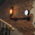 American village decorative industrial wall light cafe wall light indoor sconce