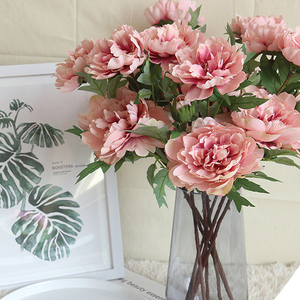 Attractive Home Wedding Decorative Artificial Peony Flowers