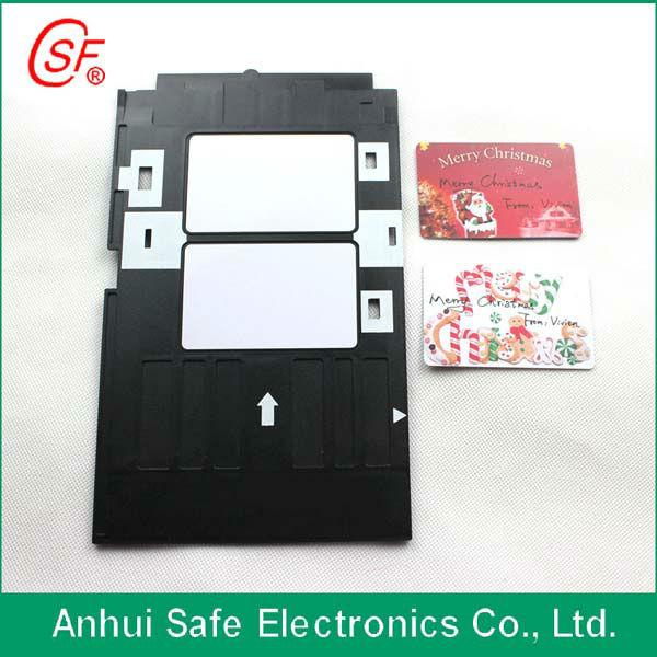 Pvc Id Card Tray Epson R280 R290 R260 50 Inkjet Printer Template