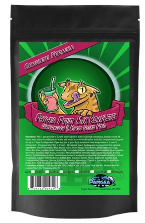 Watermelon/Mango Pangea Fruit Mix Complete Gecko Diet 1/2 LB