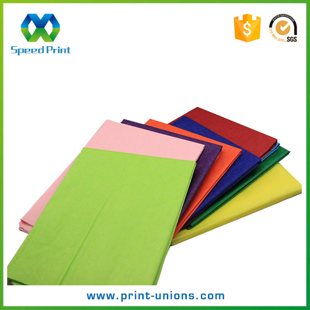 Luxury recycled soft wrapping tissue paper for shoes and clothes packaging display
