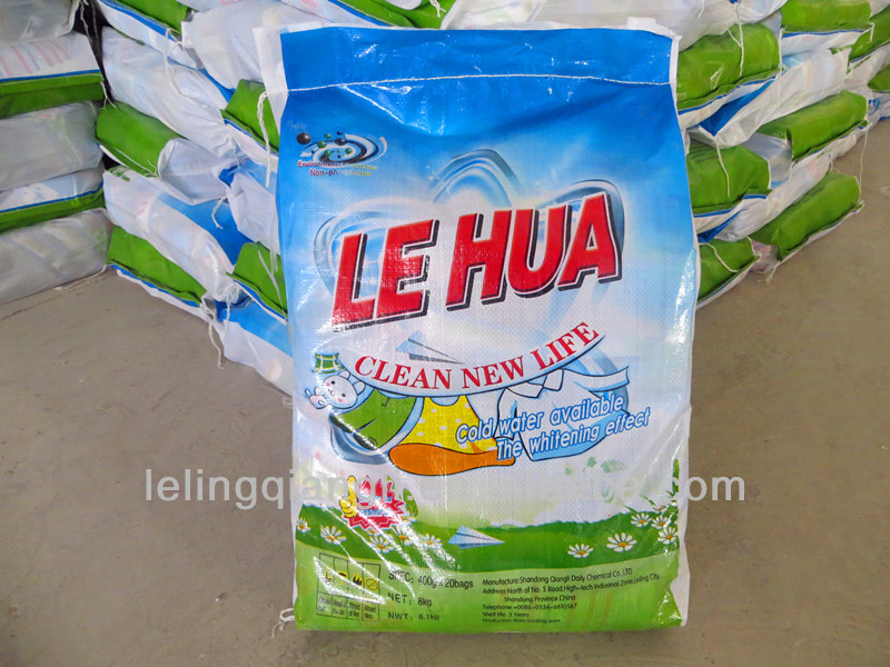 OEM laundry washing detergent powder in China