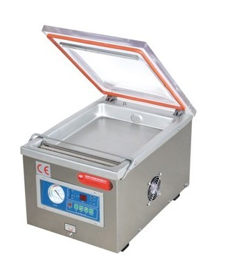 Single chamber vacuum packing machine for marinated products ,sea food,fish,chicken,bacon,beef,tofu