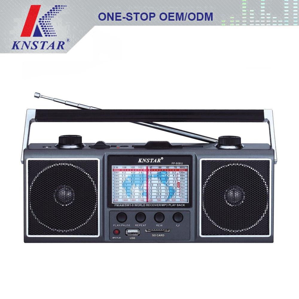 Portable Radio Fm Am Receiver With Usb Sd Card Mp3 Palyer Buy Receiverfm Receiveram Internet Product On