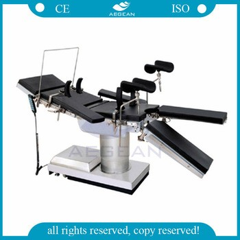 AG-OT007 CE&ISO foldable electric hydraulic surgical table